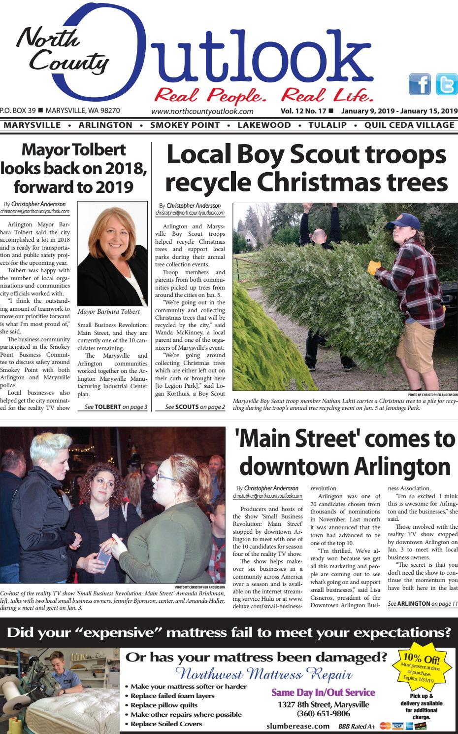 Jan  9, 2019 North County Outlook by The North County
