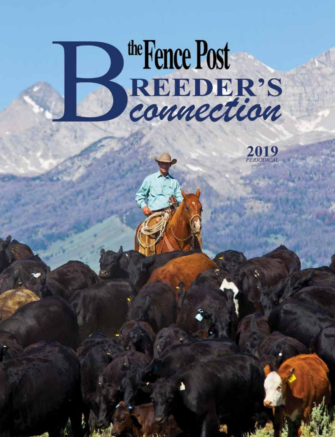 The Fence Post: Breeder's Connection 2019 by Tri-State