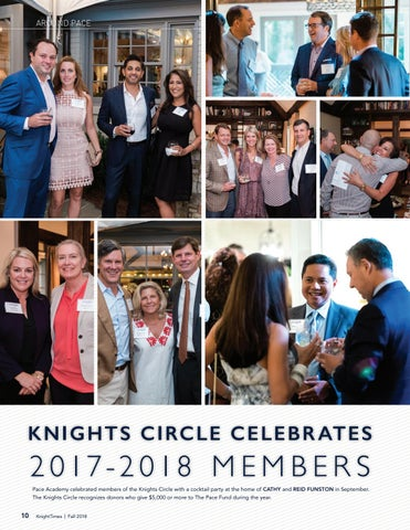 Page 10 of Knight Circle Celebrates 2017 - 2018 Members