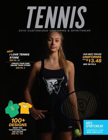 b12bbee71b1 2019 Ares Sportswear Tennis Catalog by Ares Sportswear - issuu