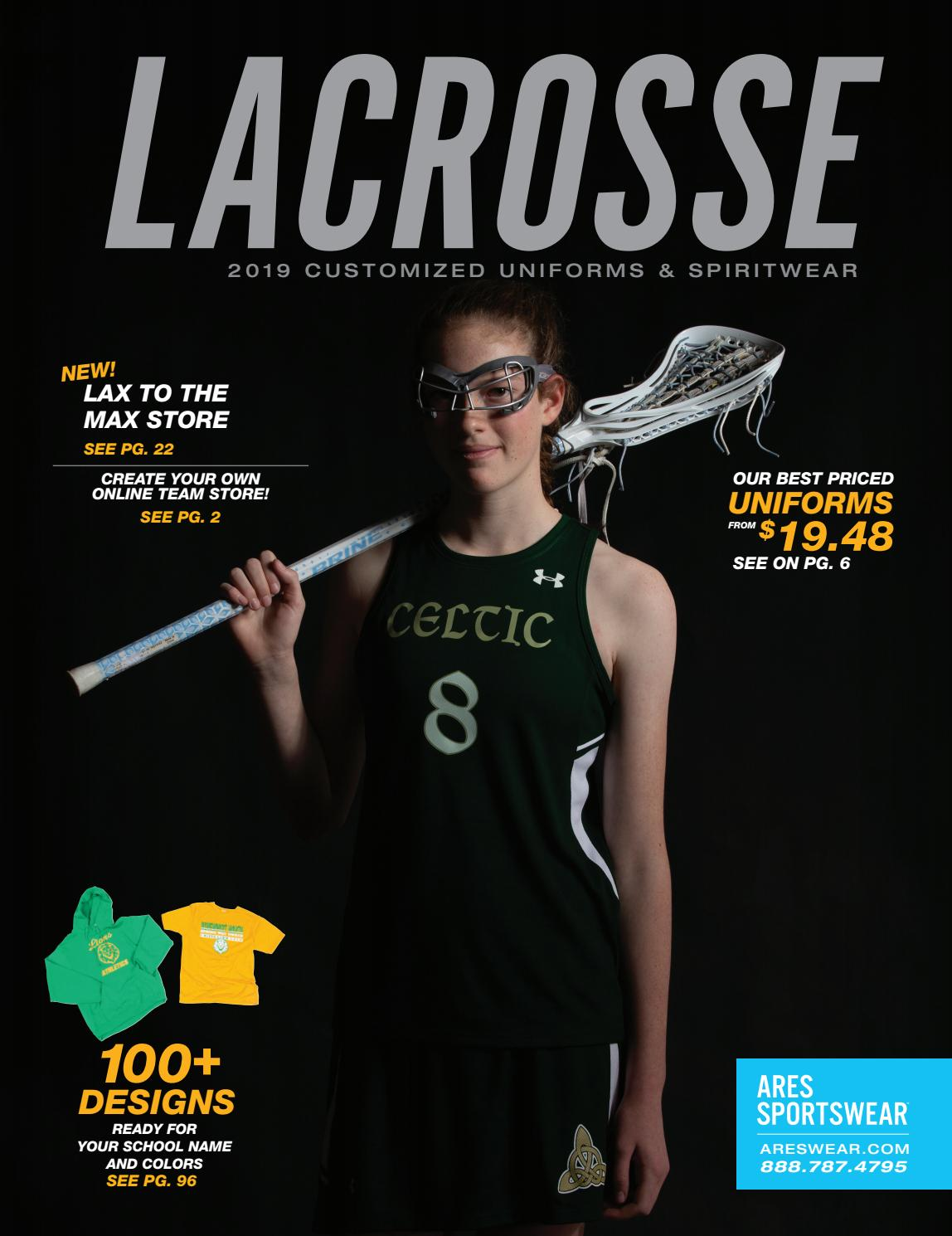 3e3a7c2a 2019 Ares Sportswear Girls Lacrosse Catalog by Ares Sportswear - issuu