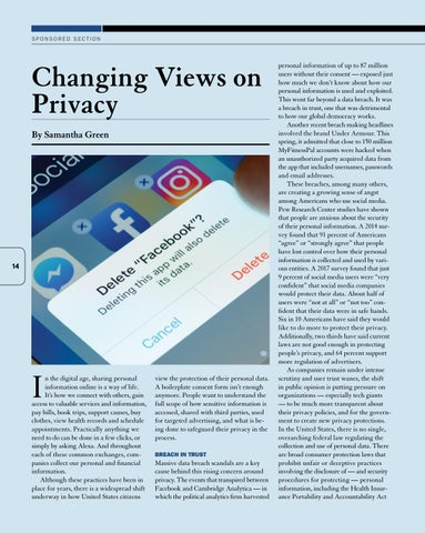 Page 16 of Changing Views on Privacy