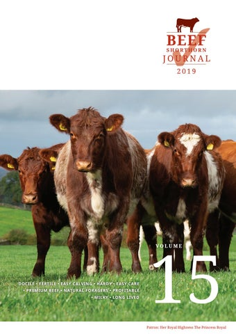Beef Shorthorn Cattle Society Journal Vol 15 2019 By