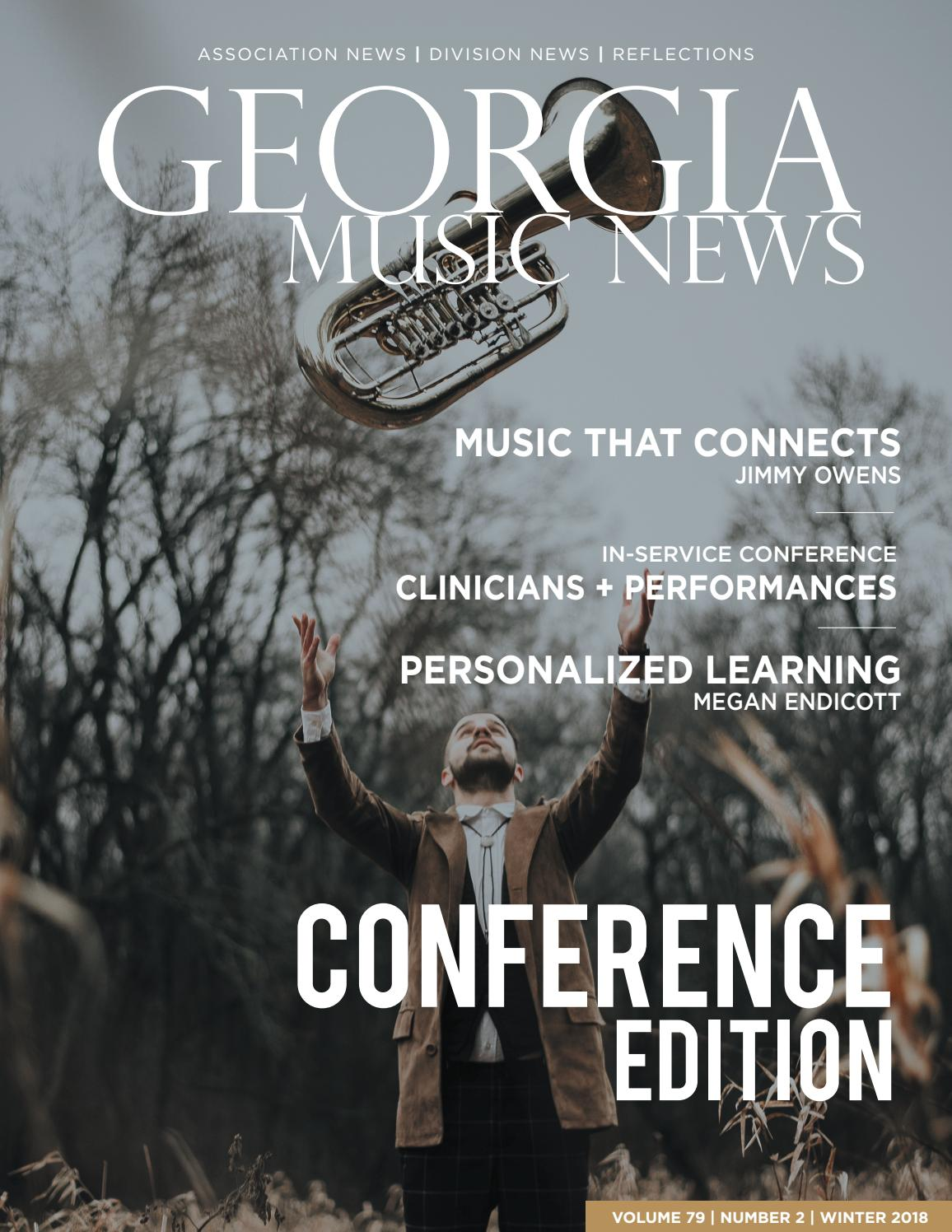 0372094e6 2018-2019 Georgia Music News