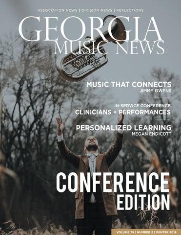 Visions Of Community 2015 Federation >> 2018 2019 Georgia Music News Winter By Georgia Music Educators