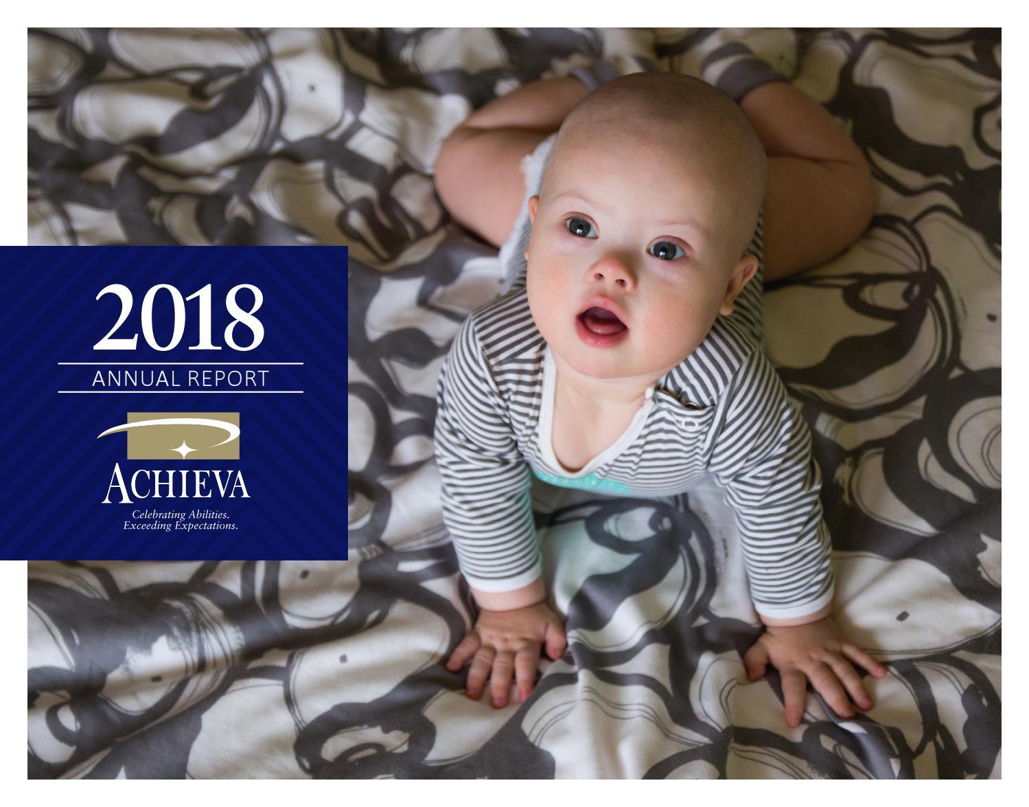 ACHIEVA 2017-2018 Annual Report by ACHIEVA - issuu