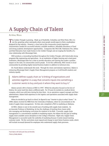 Page 29 of A supply Chain of Talent