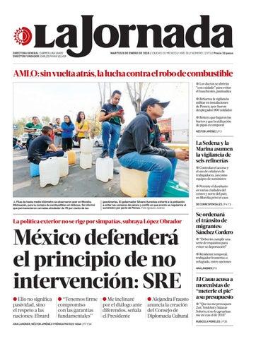 pretty nice 841a3 77ad8 La Jornada, 01 08 2019 by La Jornada  DEMOS Desarrollo de Medios SA ...