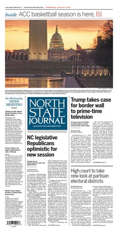 North State Journal Vol  3, Issue 46 by North State Journal - issuu
