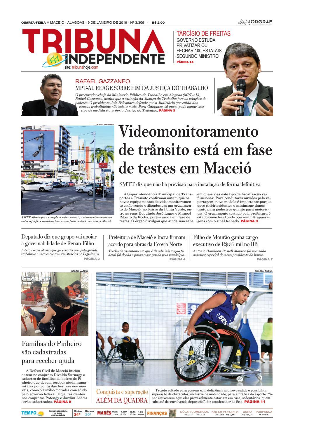 b6d2ce62da1 Edição número 3306 - 9 de janeiro de 2019 by Tribuna Hoje - issuu