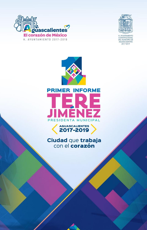 Primer Informe Tere Jiménez Aguascalientes Ciudad Que