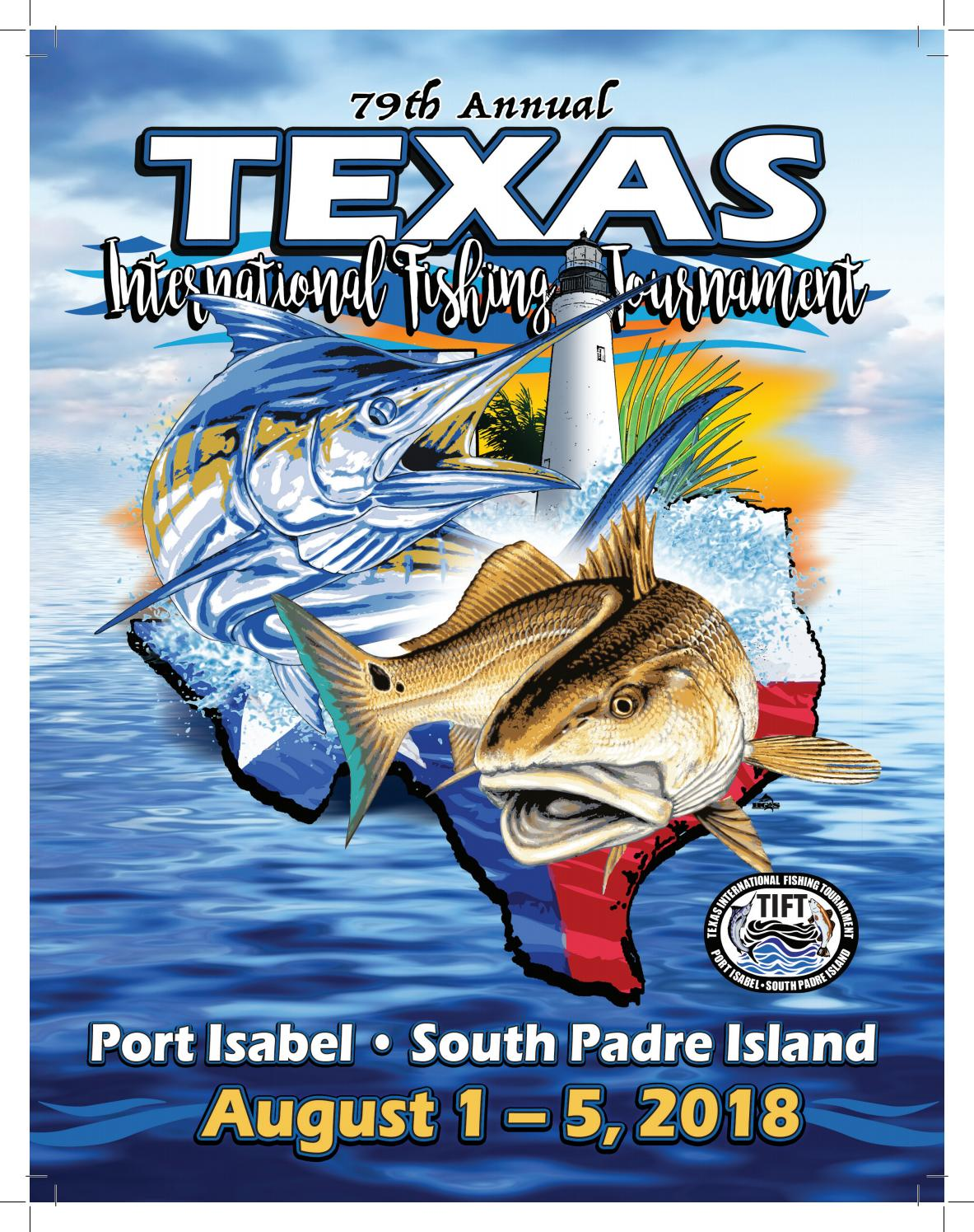 79th Texas International Fishing Tournament Program Book By Kristi Collier Issuu