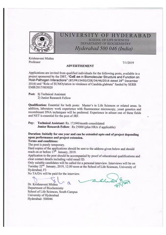 Assistant Professor (Non-Medical) Posts Vacant @ PGIMER by
