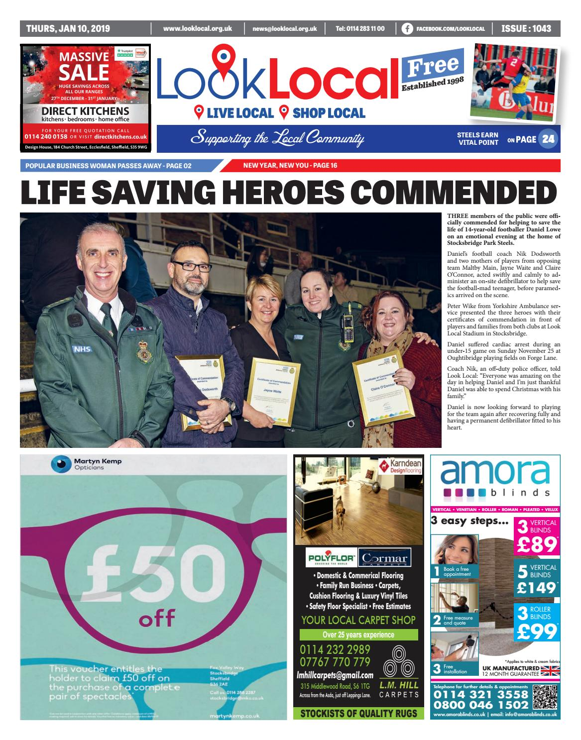 4ab8f79f31 Issue 1043 Thursday 10 January 2019 by Look Local Newspaper - issuu