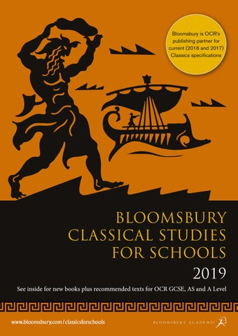 Classical Studies for Schools Catalogue 2019 by Bloomsbury