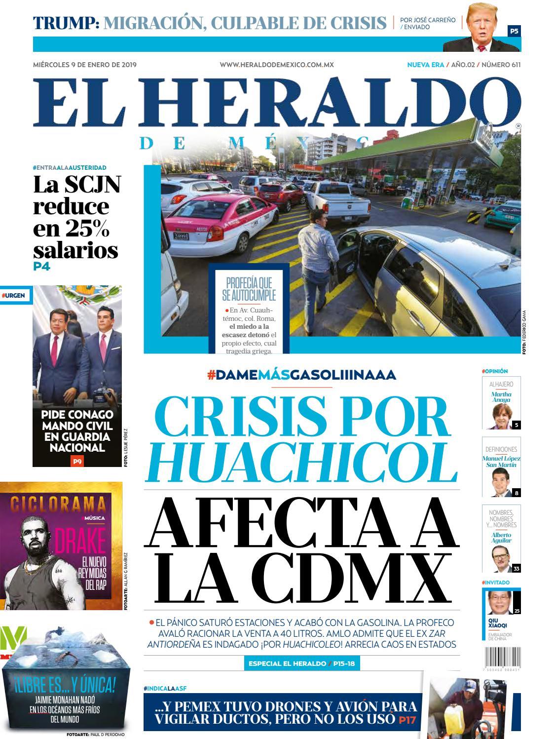 42f85a0e2b 9 de enero de 2019 by El Heraldo de México - issuu