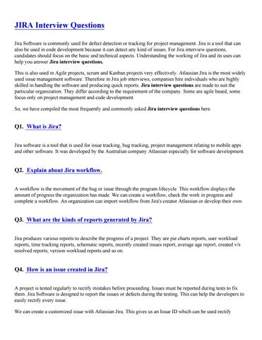 jira interview questions pdf by sandeeprjj123 - issuu