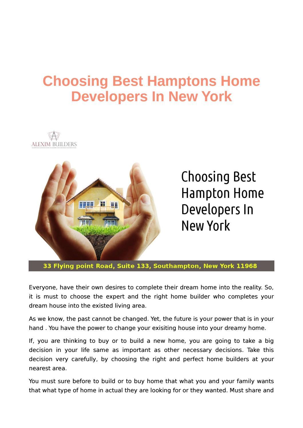 Build Modern And Stylish Hamptons Home