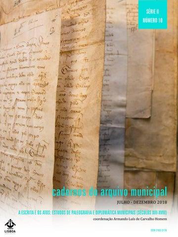 b88358440 A Escrita e os Atos  Estudos de Paleografia e Diplomática Municipais ...