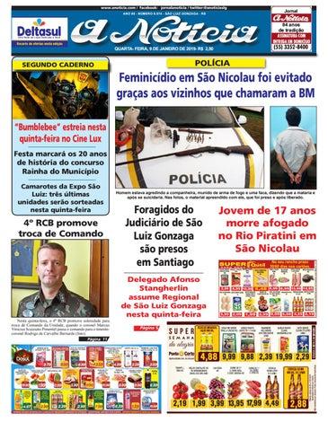 bd4bcba537 Edição de 9 de janeiro de 2019 by Jornal A Notícia - issuu