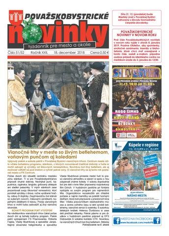 Považskobystrické novinkyč. 51-52 2018 by Považskobystrické novinky ... 855c05956e2