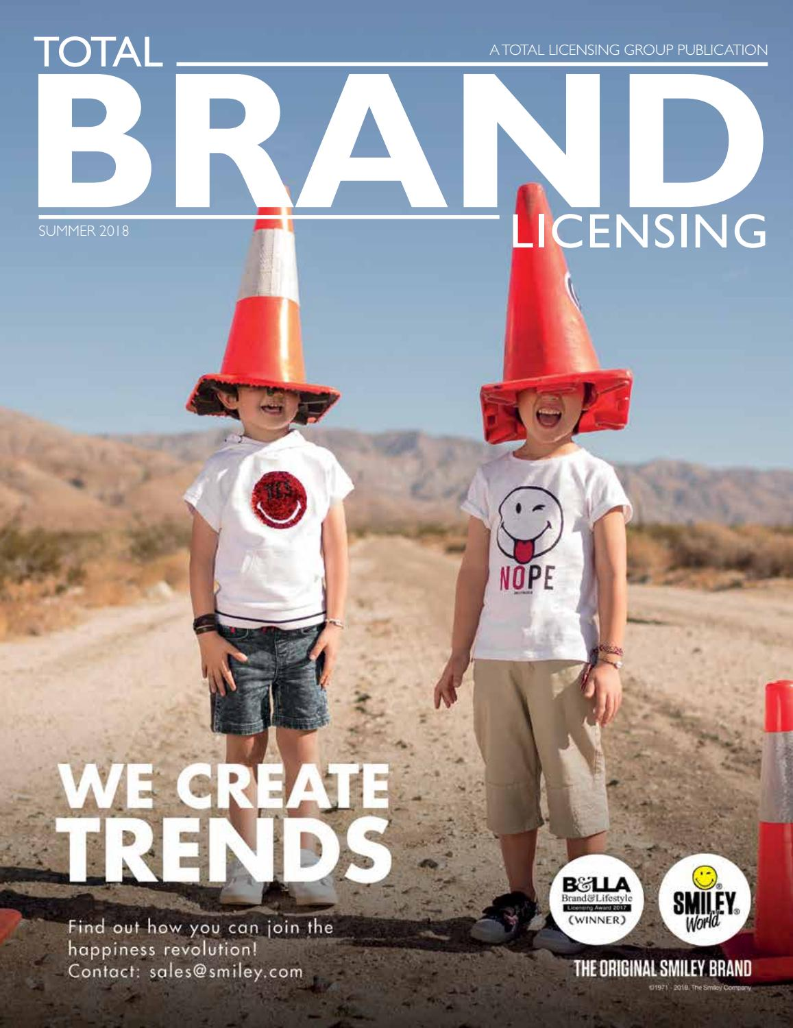 70f5219d Total Brand Licensing Summer 2018 by Total Licensing - issuu