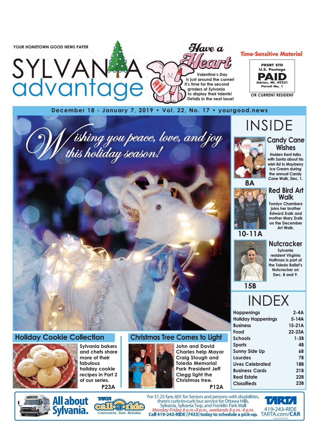 Sylvania AdVantage MID DEC 2018 by SylvaniaAdVantage - issuu
