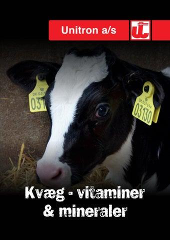 mineraler til kvæg