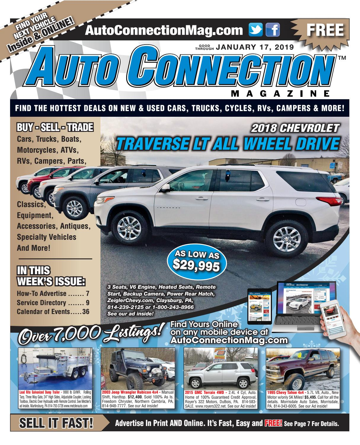 c0ecb06859 01-17-19 Auto Connection Magazine by Auto Locator and Auto ...