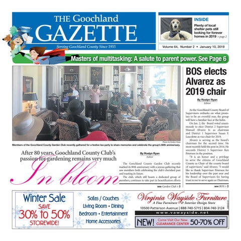 6eef85ab34aa 1 10 2019 by Goochland Gazette - issuu