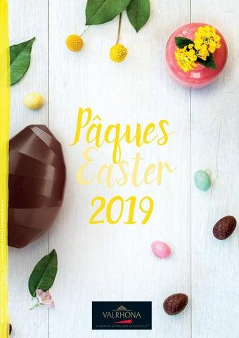 Valrhona Easter Catalogue 2019