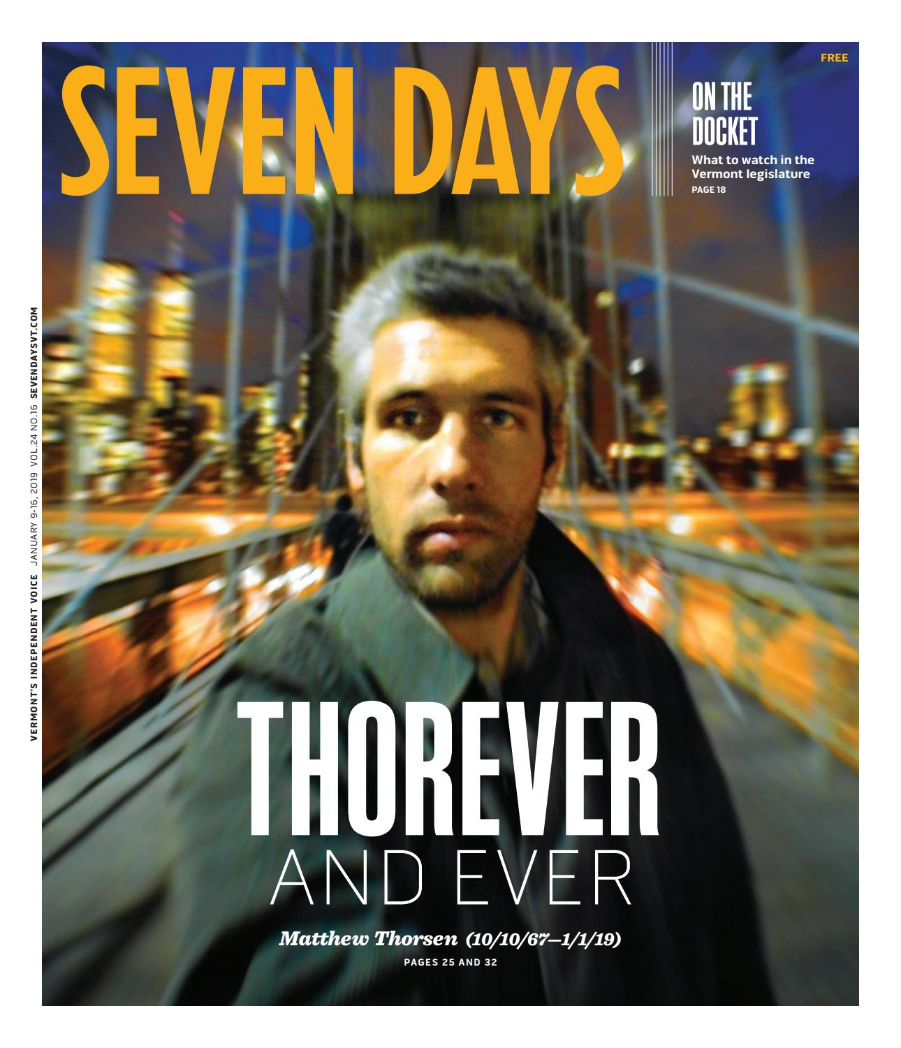 Seven Days, January 9, 2019 by Seven Days - issuu