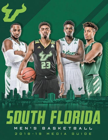 2018 19 Usf Mens Basketball Media Guide By Usf Bulls Issuu