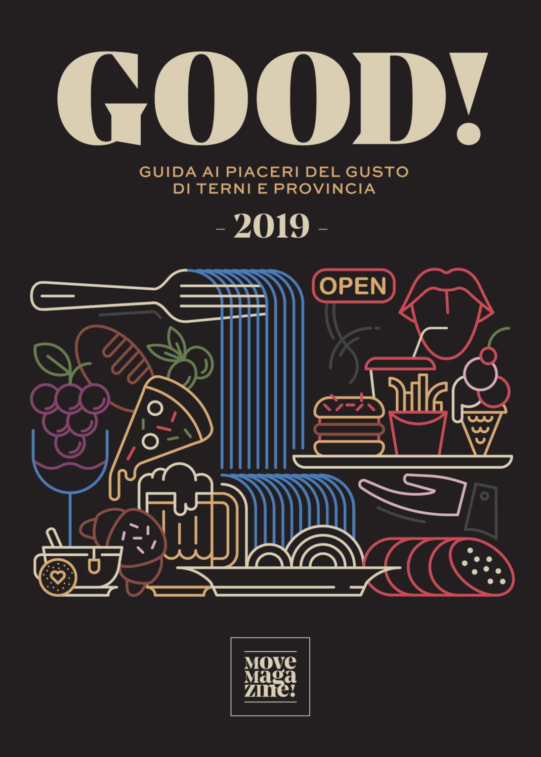 Good Guida Ai Piaceri Del Gusto Di Terni E Provincia 2019