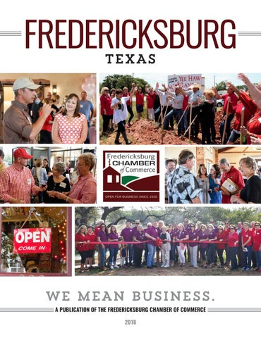 Fredericksburg, Texas Chamber of Commerce Guide by