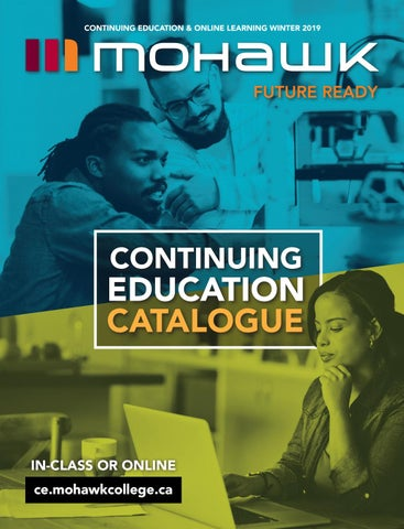 Mohawk College Continuing Education Catalogue Winter 2019 by Mohawk