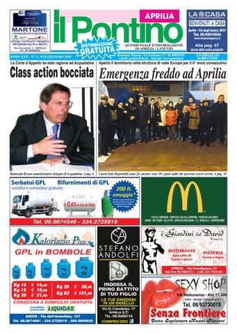 IL PONTINO APRILIA - ANNO XXX - N. 1 - 9 22 GENNAIO 2019 by Il ... 61b270917143