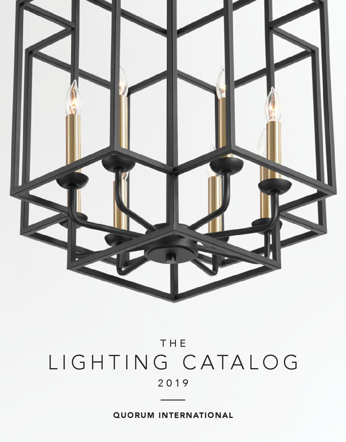 2019 Quorum International Lighting