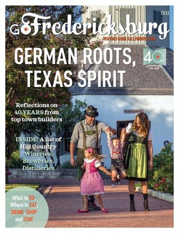 GoFredericksburg Visitors Guide - Fall-Winter 2018