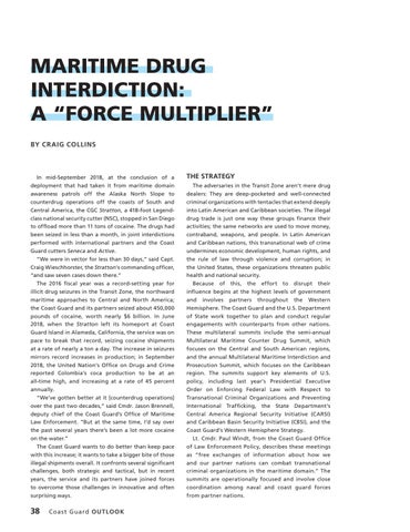 """Page 42 of MARITIME DRUG INTERDICTION: A """"FORCE MULTIPLIER'"""