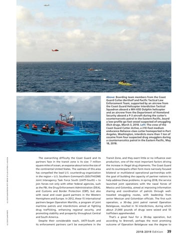 """Page 43 of MARITIME DRUG INTERDICTION: A """"FORCE MULTIPLIER'"""