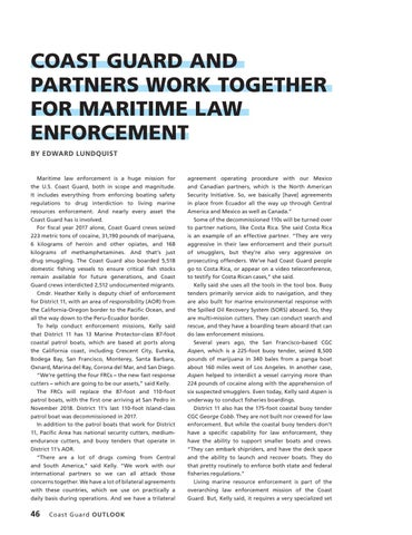 Page 50 of COAST GUARD AND PARTNERS WORK TOGETHER FOR MARITIME LAW ENFORCEMENT