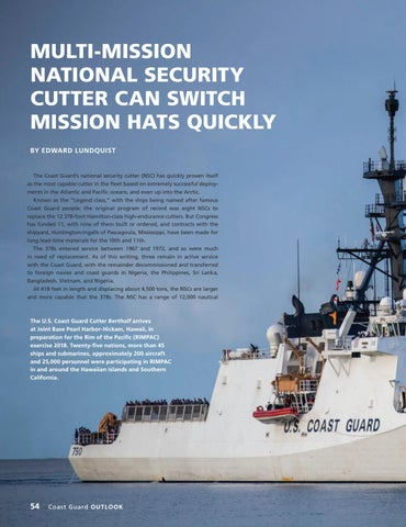 Page 58 of MULTI-MISSION NATIONAL SECURITY CUTTER CAN SWITCH MISSION HATS QUICKLY