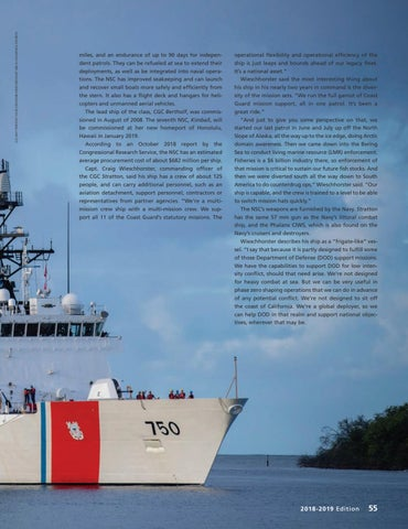 Page 59 of MULTI-MISSION NATIONAL SECURITY CUTTER CAN SWITCH MISSION HATS QUICKLY