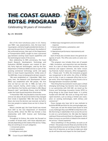 Page 78 of The Coast Guard RDT&E Program, Celebrating 50 years of innovation