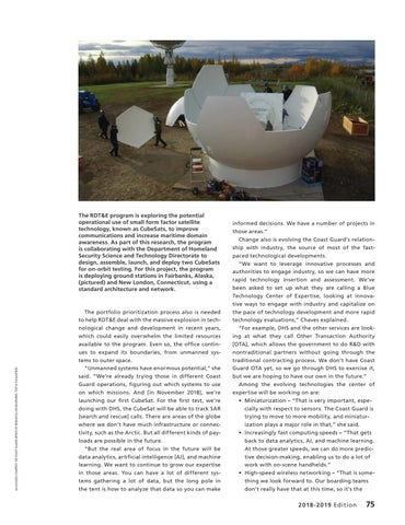 Page 79 of The Coast Guard RDT&E Program, Celebrating 50 years of innovation