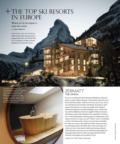 Page 100 of The Top Ski Resorts in Europe