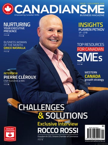 489d768b136 Page 1 of Q & A With Rocco Rossi-President And CEO-Ontario Chamber