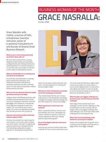 Page 22 of Business Woman Of The Month- Grace Nasralla