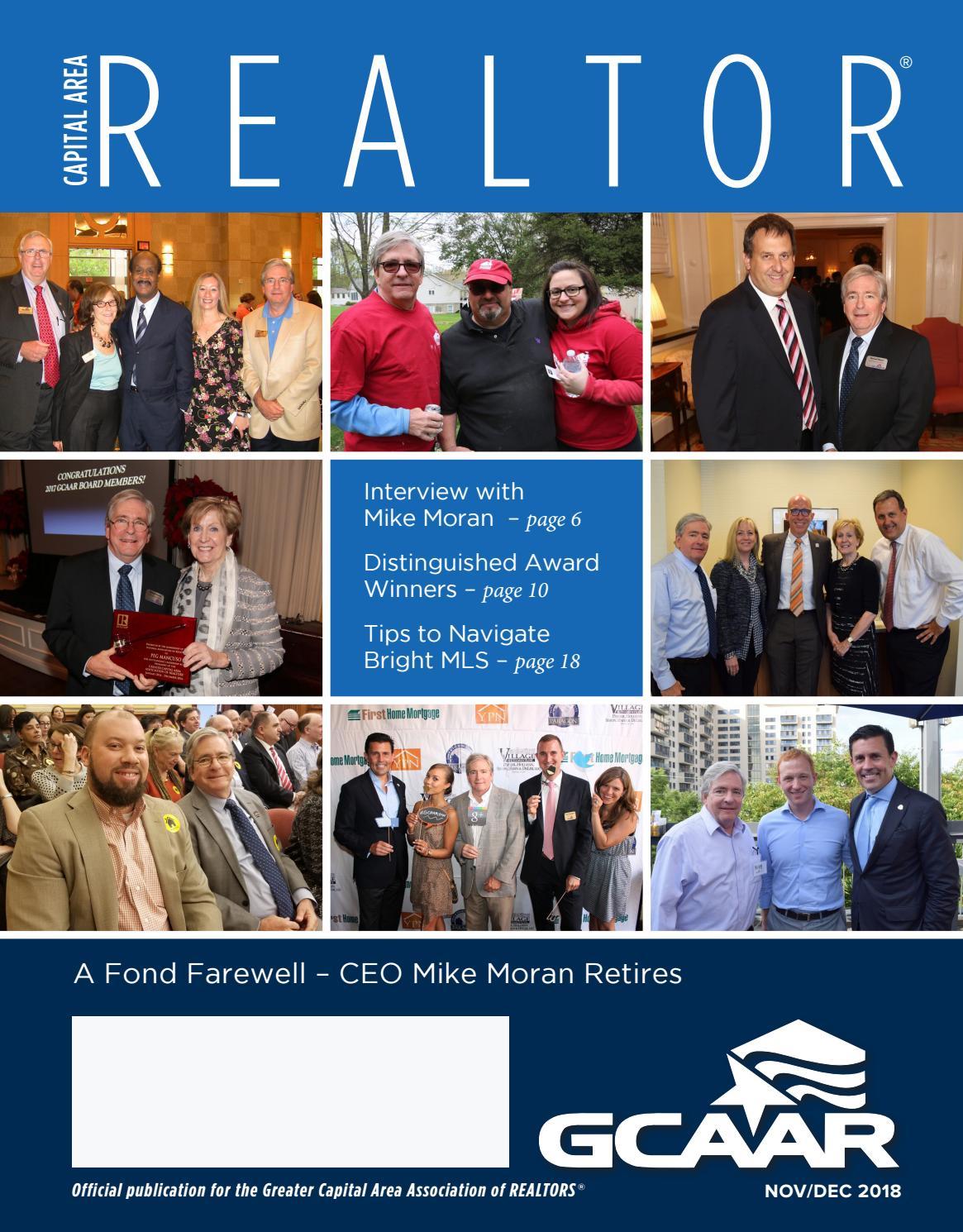 Capital Area REALTOR® Nov/Dec 2018 by GCAAR - issuu